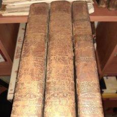Diccionarios antiguos: DICCIONARIO ROMANO LEGISLACION Y JURISPRUDENCIA POR JOAQUIN ESCRICHE 2+1 SUPLEMENTO, 1847. Lote 218131758