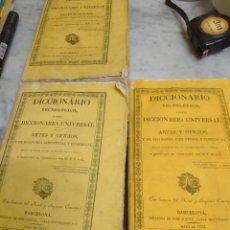 Livres anciens: PRPM 76 DICCIONARIO TECNOLÓGICO O NUEVO DICCIONARIO UNIVERSAL ARTES Y OFICIOS Y ECONOMÍA INDUSTRIAL. Lote 218249358