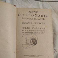 Diccionarios antiguos: PRECIOSO DICCIONARIO, ESPAÑOLA FRANCÉS DE FINALES DE 1800. Lote 218610611
