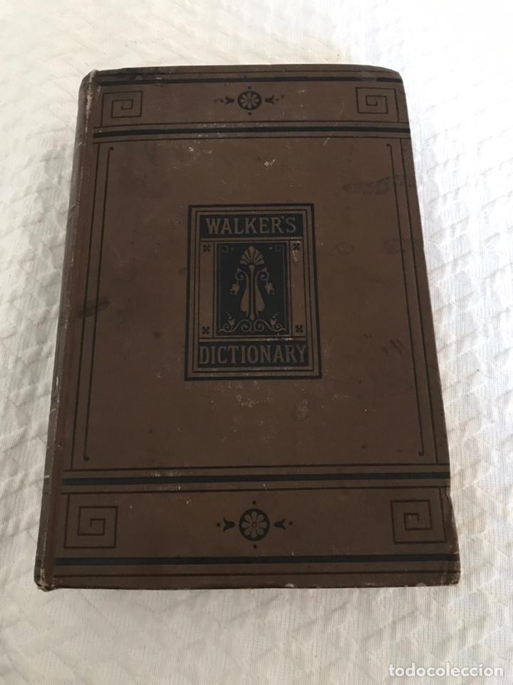 DICCIONARIO WALKER'S 1881 (Libros Antiguos, Raros y Curiosos - Diccionarios)