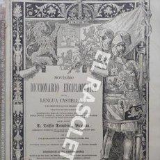 Diccionarios antiguos: ANTIGUO CUADERNO Nº 46 DICCIONARIO ENCICLOPEDICO DE LA LENGUA CASTELLANA D. DELFIN DONADIU Y PUIGNAU. Lote 219613183