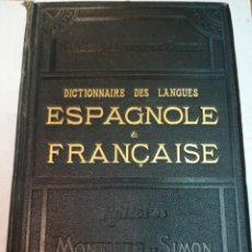 Livres anciens: DON NEMESIO FERNÁNDEZ CUESTA DICCIONARIO DE LAS LENGUAS ESPAÑOLA Y FRANCESA 4 TOMS S945T. Lote 219641955