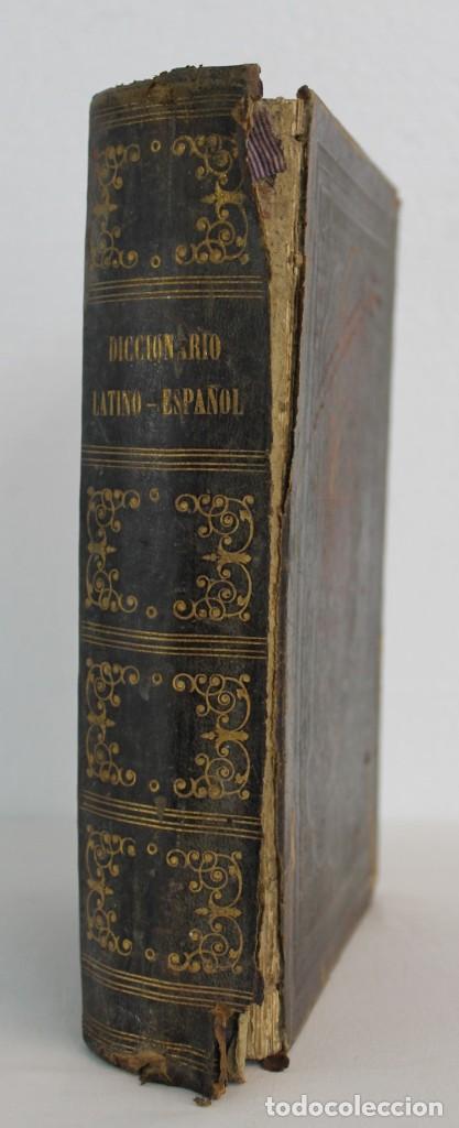 Diccionarios antiguos: DICCIONARIO LATINO-ESPAÑOL O NUEVO VALBUENA POR DON VICENTA SALVÁ, 1873. GARNIER HERMANOS - Foto 5 - 219883797