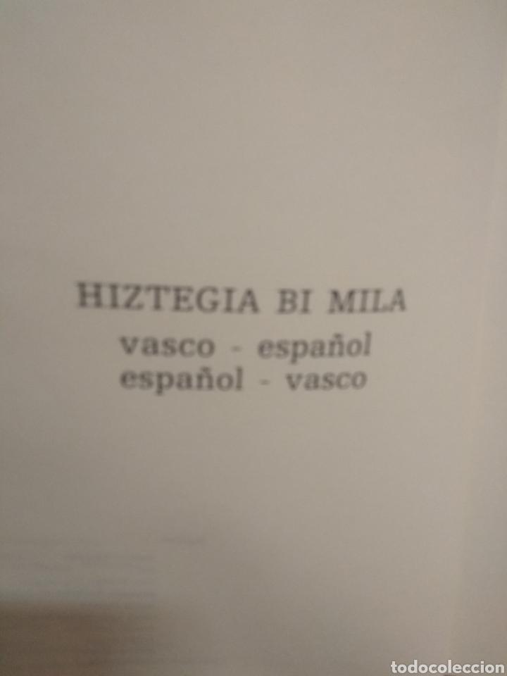 Diccionarios antiguos: Vasco - español.BI 2000 MILLA.854 pag - Foto 8 - 219905841