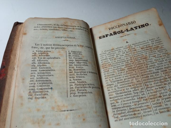 Diccionarios antiguos: ANTIGUO DICCIONARIO ESPAÑOL LATIN, LABERNIA Y ESTELLER. - Foto 6 - 220795288