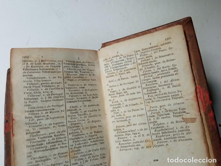 Diccionarios antiguos: ANTIGUO DICCIONARIO ESPAÑOL LATIN, LABERNIA Y ESTELLER. - Foto 8 - 220795288