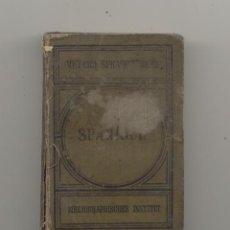 Diccionarios antiguos: MEYERS DICCIONARIO DE BOLSILLO ALEMÁN ESPAÑOL 1887. Lote 221379492
