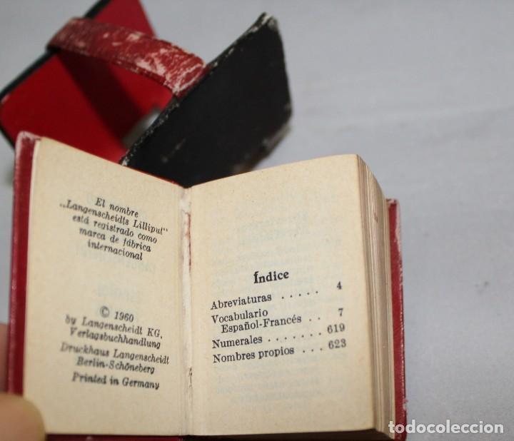 Diccionarios antiguos: DICCIONARIO LILLIPUT ESPAÑOL - FRANCES Y FRANCES - ESPAÑOL - Foto 4 - 221459546