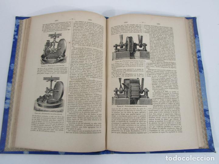 Diccionarios antiguos: Diccionario Enciclopédico de Agricultura - Ganadería e Industrias Rurales - Tomo I - 1885 - Foto 4 - 222685900