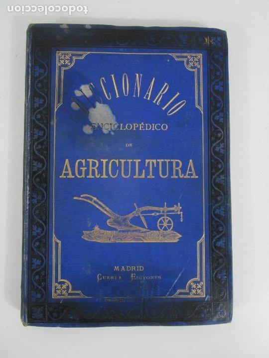 Diccionarios antiguos: Diccionario Enciclopédico de Agricultura - Ganadería e Industrias Rurales - Tomo I - 1885 - Foto 7 - 222685900