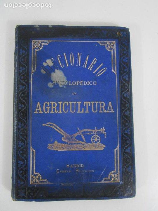 DICCIONARIO ENCICLOPÉDICO DE AGRICULTURA - GANADERÍA E INDUSTRIAS RURALES - TOMO I - 1885 (Libros Antiguos, Raros y Curiosos - Diccionarios)