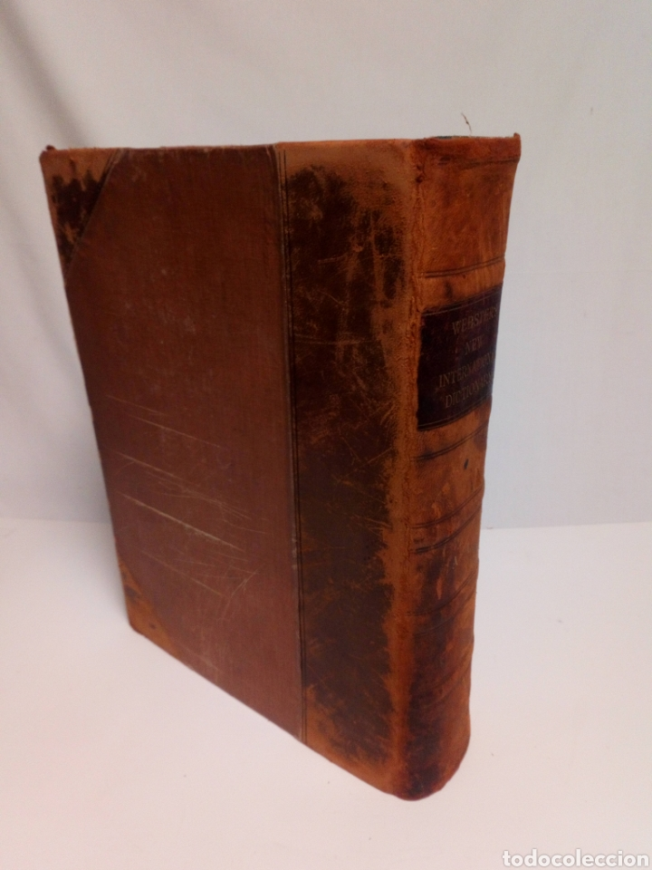 Diccionarios antiguos: Websters New international dictionary. Edición 1924 - Foto 4 - 223377963