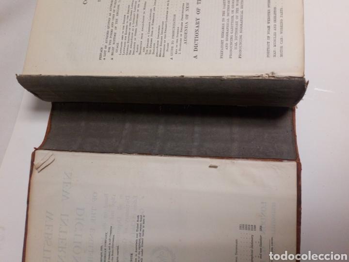 Diccionarios antiguos: Websters New international dictionary. Edición 1924 - Foto 5 - 223377963