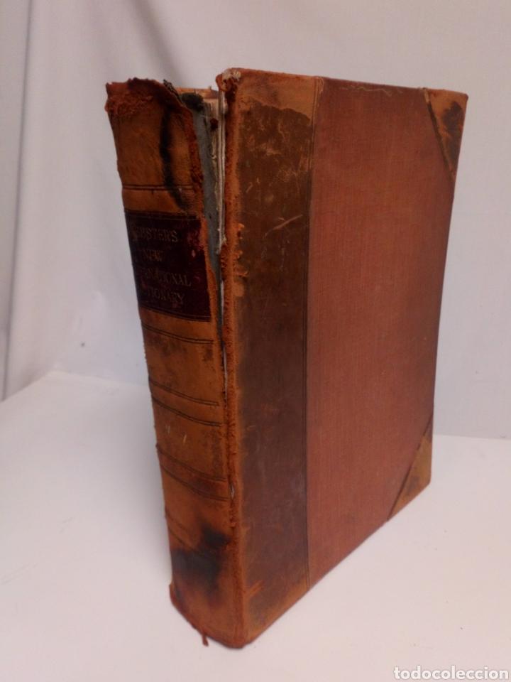 Diccionarios antiguos: Websters New international dictionary. Edición 1924 - Foto 7 - 223377963