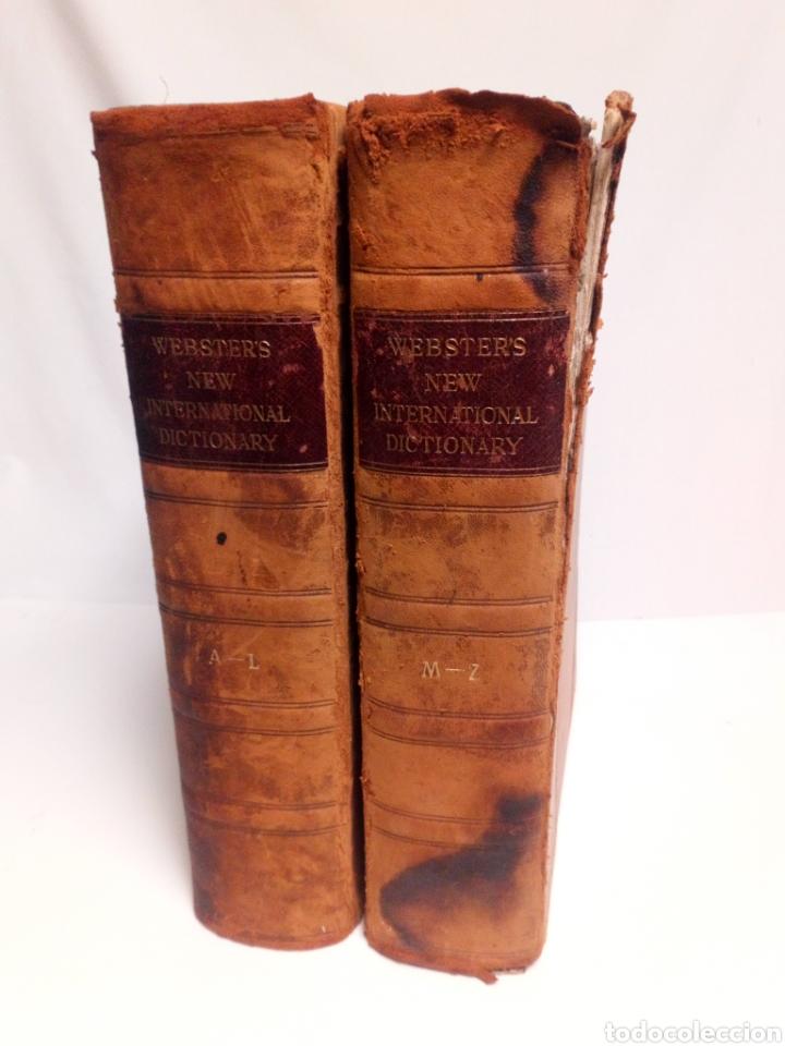 WEBSTER'S NEW INTERNATIONAL DICTIONARY. EDICIÓN 1924 (Libros Antiguos, Raros y Curiosos - Diccionarios)
