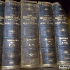 Diccionarios antiguos: PRIMER DICCIONARIO HETIMOLOGICO DE LA LENGUA ESPAÑOL DE R.BARCIA DE 1880-81 BUEN ESTADO. Lote 223422100