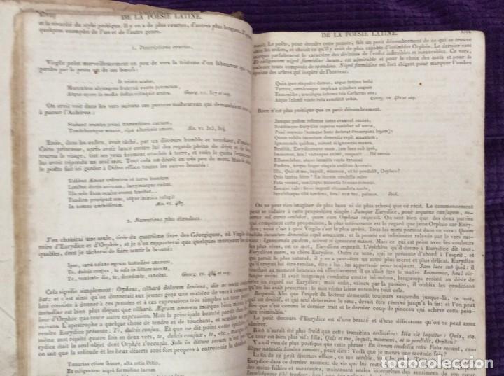 Diccionarios antiguos: Fr. Noel. GRADUS AD PARNASSUM ou nouveau dictionnaire poetique latin-francais...1869 - Foto 4 - 224030238