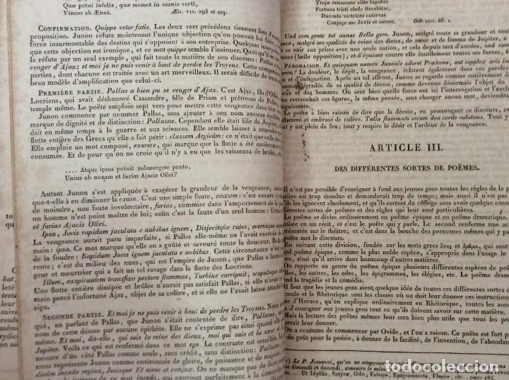 Diccionarios antiguos: Fr. Noel. GRADUS AD PARNASSUM ou nouveau dictionnaire poetique latin-francais...1869 - Foto 5 - 224030238
