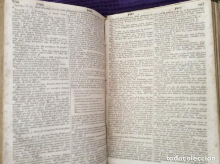 Diccionarios antiguos: Fr. Noel. GRADUS AD PARNASSUM ou nouveau dictionnaire poetique latin-francais...1869 - Foto 9 - 224030238