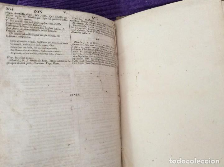 Diccionarios antiguos: Fr. Noel. GRADUS AD PARNASSUM ou nouveau dictionnaire poetique latin-francais...1869 - Foto 11 - 224030238