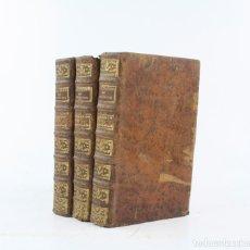 Diccionarios antiguos: DICTIONNAIRE DE PHYSIQUE, 1773, AIMÉ - HENRI PAULIAN, 3 TOMOS, GAUDE LIBRAIRE, NISMES. 20,5X13,5CM. Lote 224857825