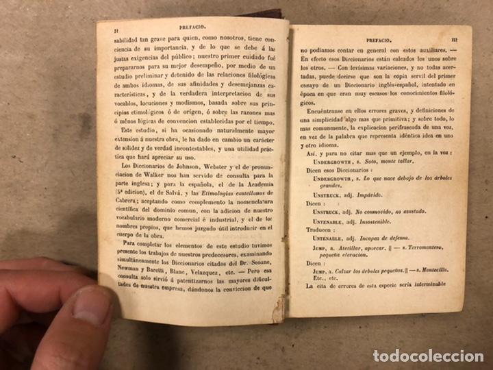Diccionarios antiguos: NUEVO DICCIONARIO INGLÉS ESPAÑOL. F. CORONA BUSTAMANTE. GARNIER HERMANOS EDITORES. - Foto 4 - 224902137