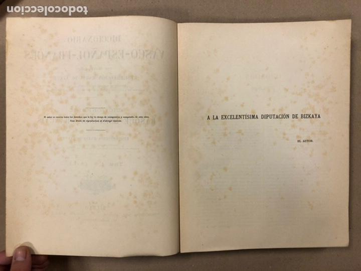Diccionarios antiguos: DICCIONARIO VASCO - ESPAÑOL - FRANCÉS POR EL PRESBÍTERO RESURRECCIÓN MARÍA DE AZKUE. 1905-06. 2 TOMO - Foto 4 - 225825890