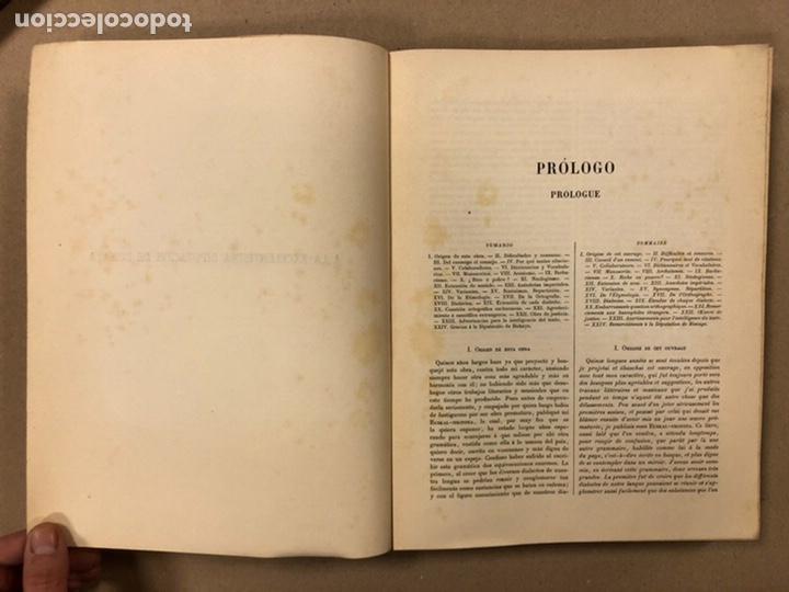 Diccionarios antiguos: DICCIONARIO VASCO - ESPAÑOL - FRANCÉS POR EL PRESBÍTERO RESURRECCIÓN MARÍA DE AZKUE. 1905-06. 2 TOMO - Foto 5 - 225825890