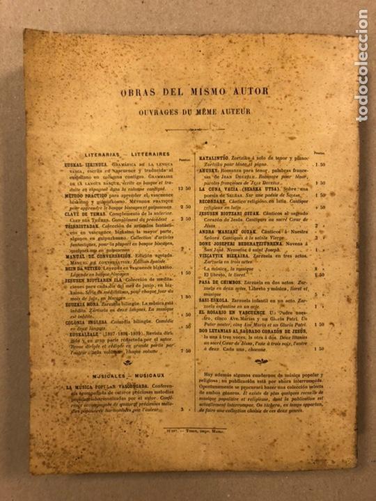 Diccionarios antiguos: DICCIONARIO VASCO - ESPAÑOL - FRANCÉS POR EL PRESBÍTERO RESURRECCIÓN MARÍA DE AZKUE. 1905-06. 2 TOMO - Foto 13 - 225825890