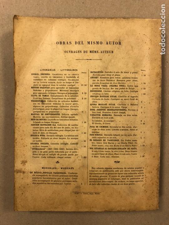 Diccionarios antiguos: DICCIONARIO VASCO - ESPAÑOL - FRANCÉS POR EL PRESBÍTERO RESURRECCIÓN MARÍA DE AZKUE. 1905-06. 2 TOMO - Foto 24 - 225825890