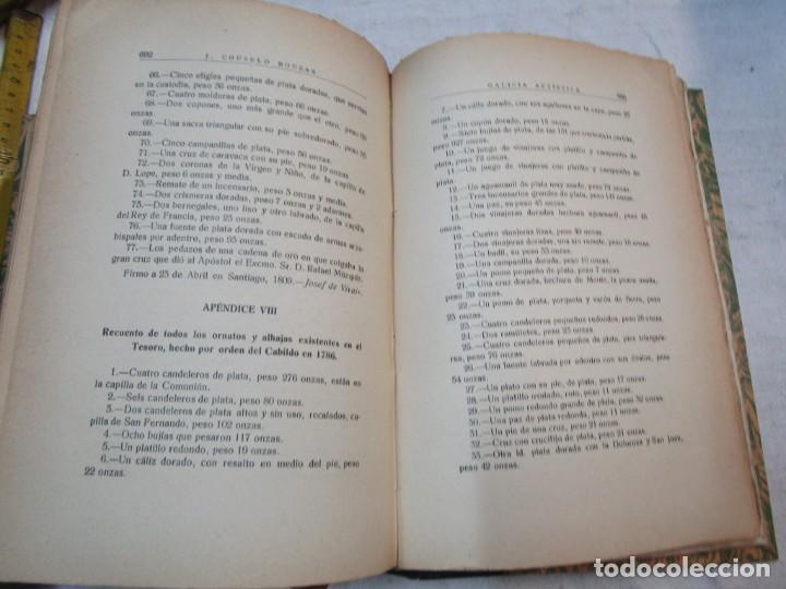 Diccionarios antiguos: GALICIA ARTISTICA EN EL SIGLO XVIII Y PRIMER TERCIO DEL XIX - JOSE COUSELO BOUZAS - SANTIAGO 1932 + - Foto 8 - 226004082