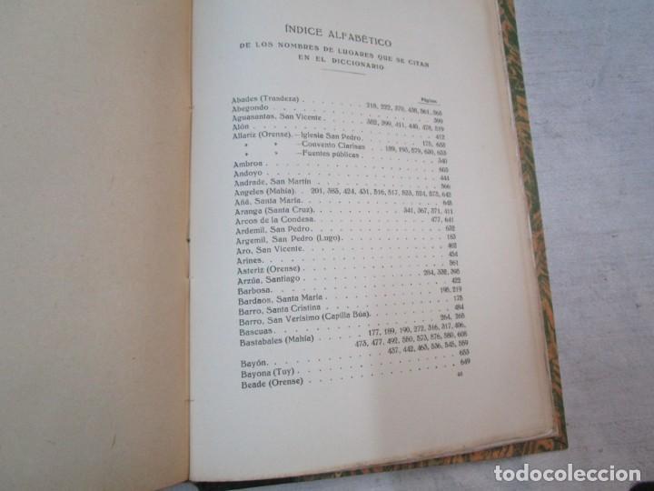 Diccionarios antiguos: GALICIA ARTISTICA EN EL SIGLO XVIII Y PRIMER TERCIO DEL XIX - JOSE COUSELO BOUZAS - SANTIAGO 1932 + - Foto 12 - 226004082