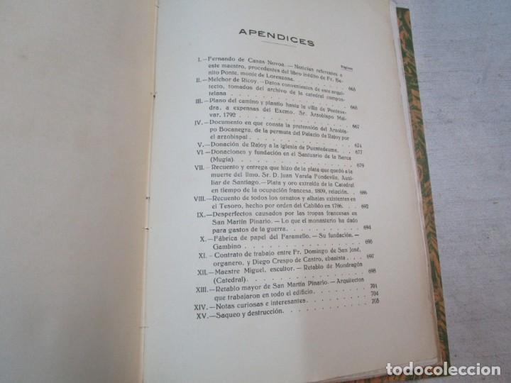 Diccionarios antiguos: GALICIA ARTISTICA EN EL SIGLO XVIII Y PRIMER TERCIO DEL XIX - JOSE COUSELO BOUZAS - SANTIAGO 1932 + - Foto 13 - 226004082