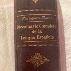 Diccionarios antiguos: DICCIONARIO COMPLETO DE LA LENGUA ESPAÑOLA RODRIGUEZ- NAVAS, 1906, EDITORIAL SATURNINO CALLEJA. Lote 226426235