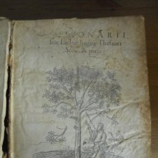 Diccionarios antiguos: DICTIONARII SIVE LINGUAE LATINAE. SECUNDA PARS. ROBERT ESTIENNE. PARIS, 1536 DICCIONARIO LATÍN. Lote 227712995