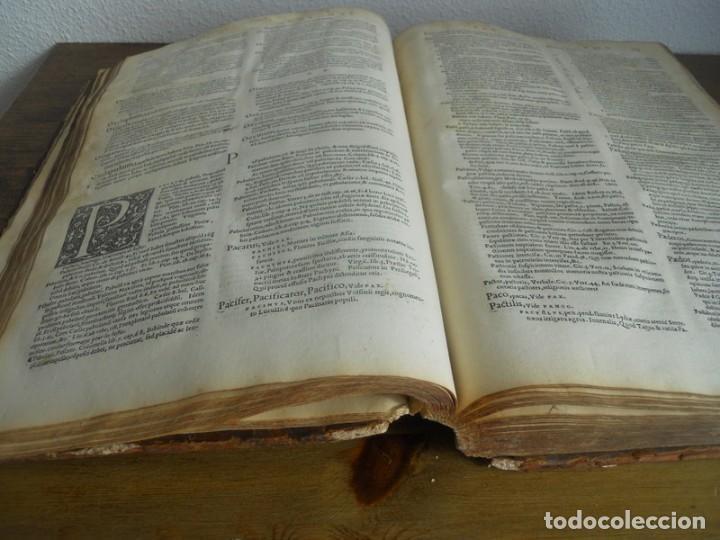 Diccionarios antiguos: DICTIONARII SIVE LINGUAE LATINAE. SECUNDA PARS. ROBERT ESTIENNE. PARIS, 1536 DICCIONARIO LATÍN - Foto 9 - 227712995