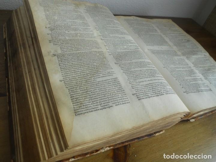 Diccionarios antiguos: DICTIONARII SIVE LINGUAE LATINAE. SECUNDA PARS. ROBERT ESTIENNE. PARIS, 1536 DICCIONARIO LATÍN - Foto 14 - 227712995