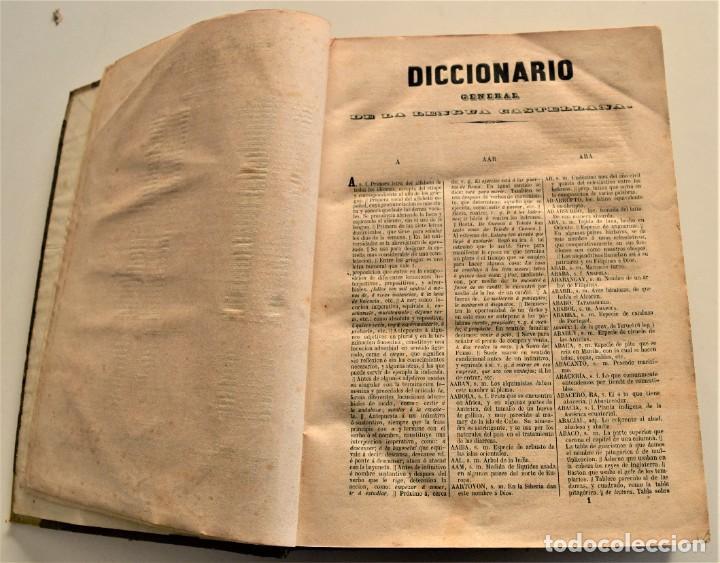 Diccionarios antiguos: DICCIONARIO GENERAL DE LA LENGUA CASTELLANA - BAJO LA DIRECCIÓN DE JOSÉ CABALLERO - MADRID 1852 - Foto 5 - 228449490
