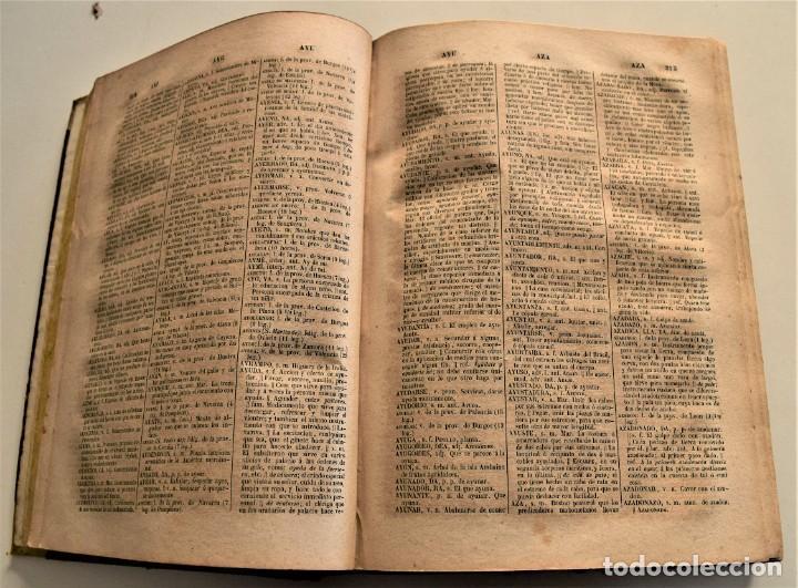 Diccionarios antiguos: DICCIONARIO GENERAL DE LA LENGUA CASTELLANA - BAJO LA DIRECCIÓN DE JOSÉ CABALLERO - MADRID 1852 - Foto 6 - 228449490