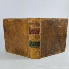 Libri antichi: PRECIOSO DICCIONARIO DE BOLSILLO DE FORMA CUADRADA DE MÁS DE 200 AÑOS DE ANTIGÜEDAD.. Lote 228515580