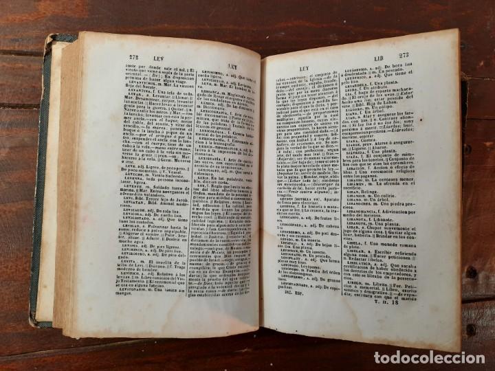 Diccionarios antiguos: DICCIONARIO NACIONAL DE LA LENGUA ESPAÑOLA, 2 TOMOS - D.R.J. DOMINGUEZ - NO CONSTA AÑO NI EDITORIAL - Foto 6 - 229590585