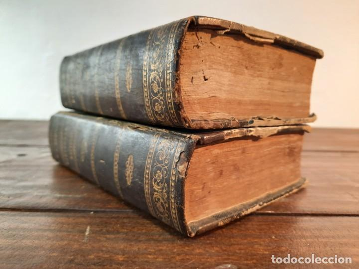 Diccionarios antiguos: DICCIONARIO NACIONAL DE LA LENGUA ESPAÑOLA, 2 TOMOS - D.R.J. DOMINGUEZ - NO CONSTA AÑO NI EDITORIAL - Foto 7 - 229590585