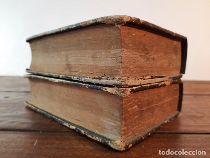 Diccionarios antiguos: DICCIONARIO NACIONAL DE LA LENGUA ESPAÑOLA, 2 TOMOS - D.R.J. DOMINGUEZ - NO CONSTA AÑO NI EDITORIAL - Foto 8 - 229590585
