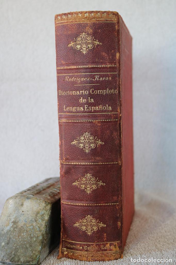DICCIONARIO COMPLETO DE LA LENGUA ESPAÑOLA - M. RODRIGUEZ-NAVAS - ED. CALLEJA 1910 (Libros Antiguos, Raros y Curiosos - Diccionarios)