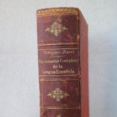 Diccionarios antiguos: DICCIONARIO COMPLETO DE LA LENGUA ESPAÑOLA - M. RODRIGUEZ-NAVAS - ED. CALLEJA 1910. Lote 229680960