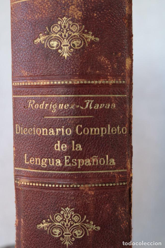 Diccionarios antiguos: DICCIONARIO COMPLETO DE LA LENGUA ESPAÑOLA - M. RODRIGUEZ-NAVAS - ED. CALLEJA 1910 - Foto 3 - 229680960