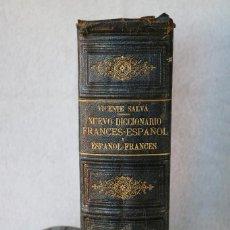 Diccionarios antiguos: NUEVO DICCIONARIO FRANCES-ESPAÑOL ESPAÑOL-FRANCES - VICENTE SALVÁ - GARNIER HERMANOS PARIS 1890. Lote 229683435