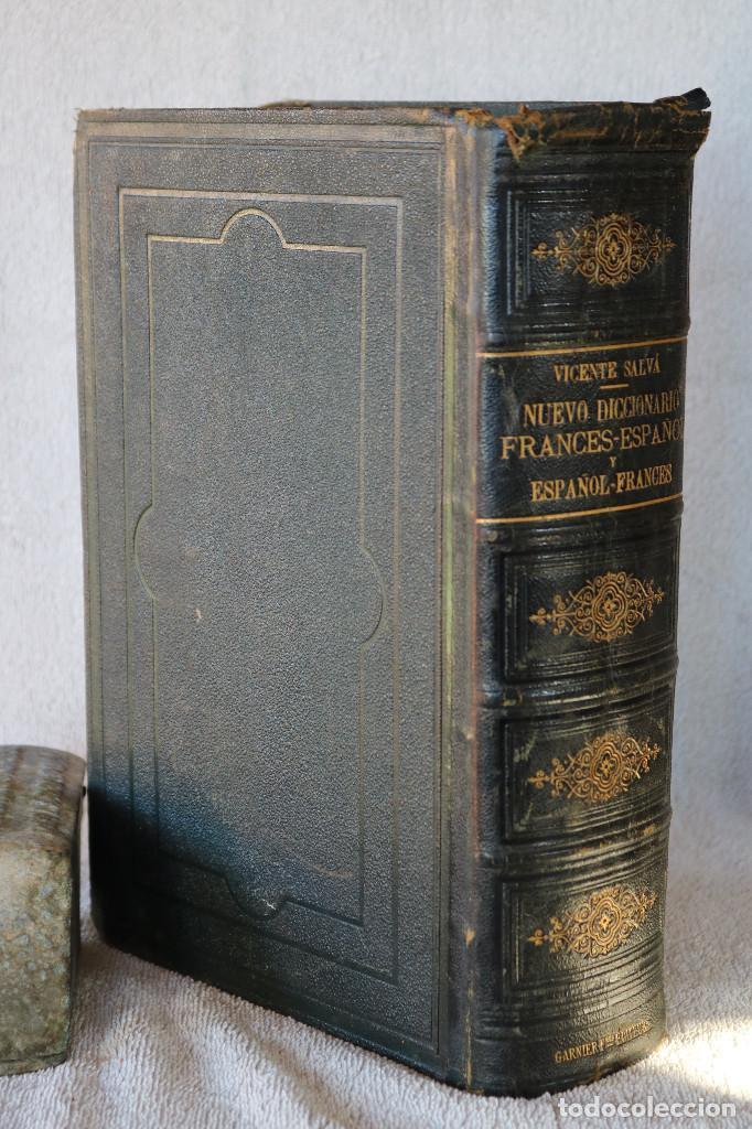 Diccionarios antiguos: NUEVO DICCIONARIO FRANCES-ESPAÑOL ESPAÑOL-FRANCES - VICENTE SALVÁ - GARNIER HERMANOS PARIS 1890 - Foto 4 - 229683435