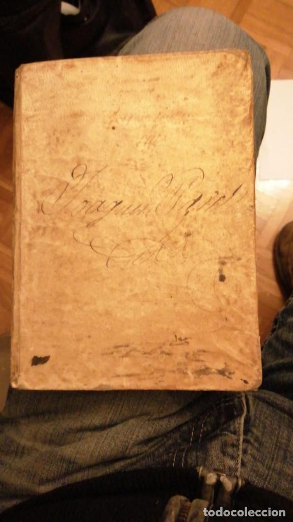 THESAURUS HISPANO-LATINUS. DICCIONARIO CASTELANO-LATIN EN TAPAS DE PERGAMINO.AÑO 1831 (Libros Antiguos, Raros y Curiosos - Diccionarios)