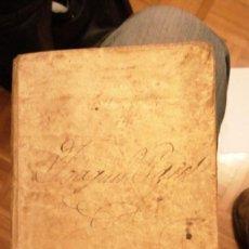 Diccionarios antiguos: THESAURUS HISPANO-LATINUS. DICCIONARIO CASTELANO-LATIN EN TAPAS DE PERGAMINO.AÑO 1831. Lote 230404615